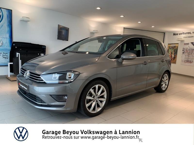 Photo 1 de l'offre de VOLKSWAGEN Golf Sportsvan 1.4 TSI 125ch BlueMotion Technology Carat à 8990€ chez Garage Beyou - Volkswagen Lannion