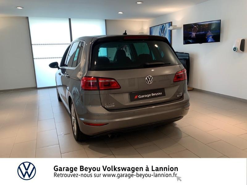 Photo 3 de l'offre de VOLKSWAGEN Golf Sportsvan 1.4 TSI 125ch BlueMotion Technology Carat à 8990€ chez Garage Beyou - Volkswagen Lannion
