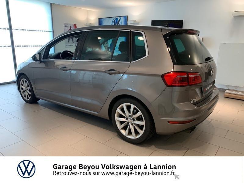 Photo 2 de l'offre de VOLKSWAGEN Golf Sportsvan 1.4 TSI 125ch BlueMotion Technology Carat à 8990€ chez Garage Beyou - Volkswagen Lannion