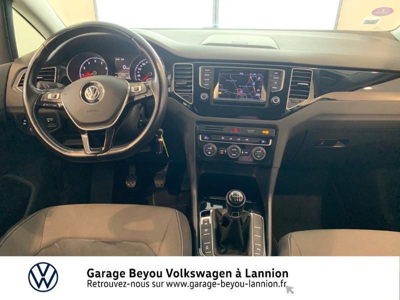 Photo 6 de l'offre de VOLKSWAGEN Golf Sportsvan 1.4 TSI 125ch BlueMotion Technology Carat à 8990€ chez Garage Beyou - Volkswagen Lannion
