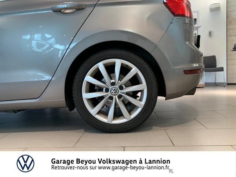 Photo 14 de l'offre de VOLKSWAGEN Golf Sportsvan 1.4 TSI 125ch BlueMotion Technology Carat à 8990€ chez Garage Beyou - Volkswagen Lannion