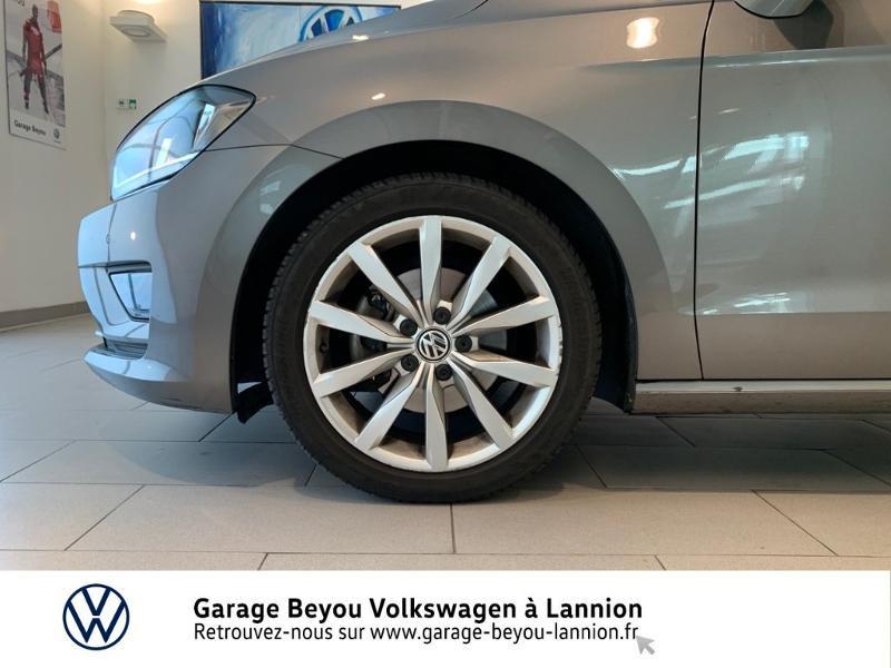 Photo 13 de l'offre de VOLKSWAGEN Golf Sportsvan 1.4 TSI 125ch BlueMotion Technology Carat à 8990€ chez Garage Beyou - Volkswagen Lannion