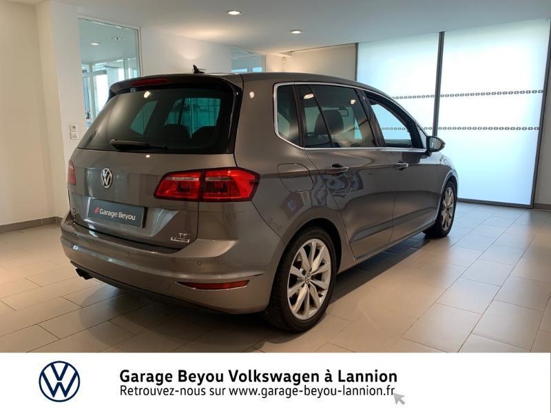Photo 4 de l'offre de VOLKSWAGEN Golf Sportsvan 1.4 TSI 125ch BlueMotion Technology Carat à 8990€ chez Garage Beyou - Volkswagen Lannion