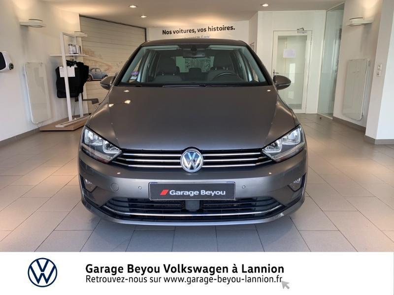 Photo 5 de l'offre de VOLKSWAGEN Golf Sportsvan 1.4 TSI 125ch BlueMotion Technology Carat à 8990€ chez Garage Beyou - Volkswagen Lannion