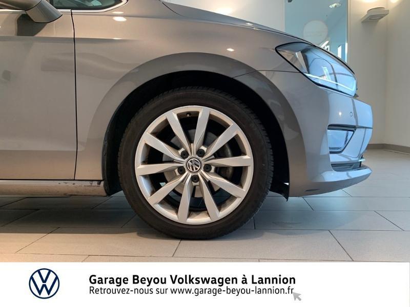 Photo 16 de l'offre de VOLKSWAGEN Golf Sportsvan 1.4 TSI 125ch BlueMotion Technology Carat à 8990€ chez Garage Beyou - Volkswagen Lannion