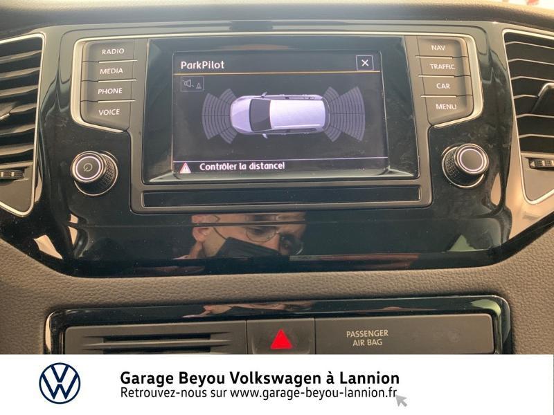 Photo 18 de l'offre de VOLKSWAGEN Golf Sportsvan 1.4 TSI 125ch BlueMotion Technology Carat à 8990€ chez Garage Beyou - Volkswagen Lannion