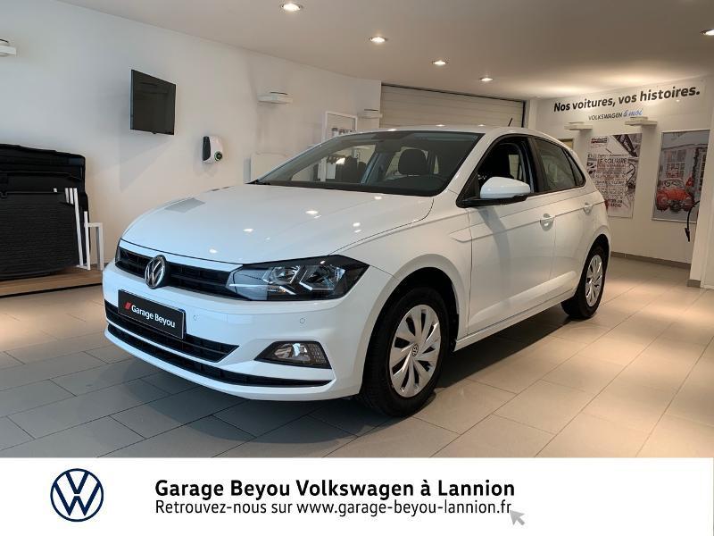 Volkswagen Polo 1.0 75ch Trendline Business Essence BLANC Occasion à vendre