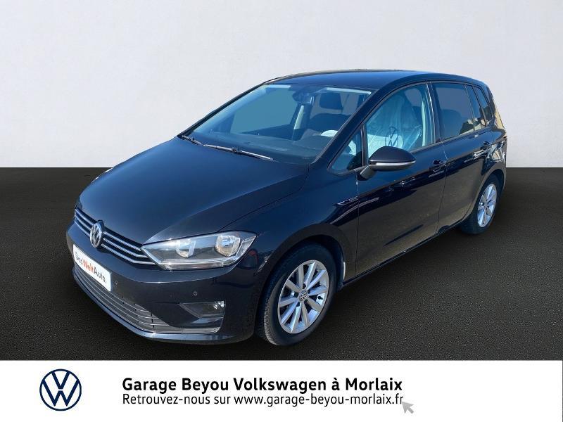 Volkswagen Golf Sportsvan 1.6 TDI 110ch BlueMotion Technology FAP Lounge Diesel NOIR INTENSE NACRE Occasion à vendre