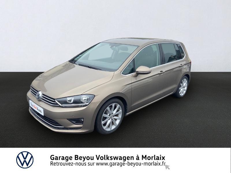 Volkswagen Golf Sportsvan 1.4 TSI 125ch BlueMotion Technology Carat Essence PYRAMID GOLD METAL Occasion à vendre