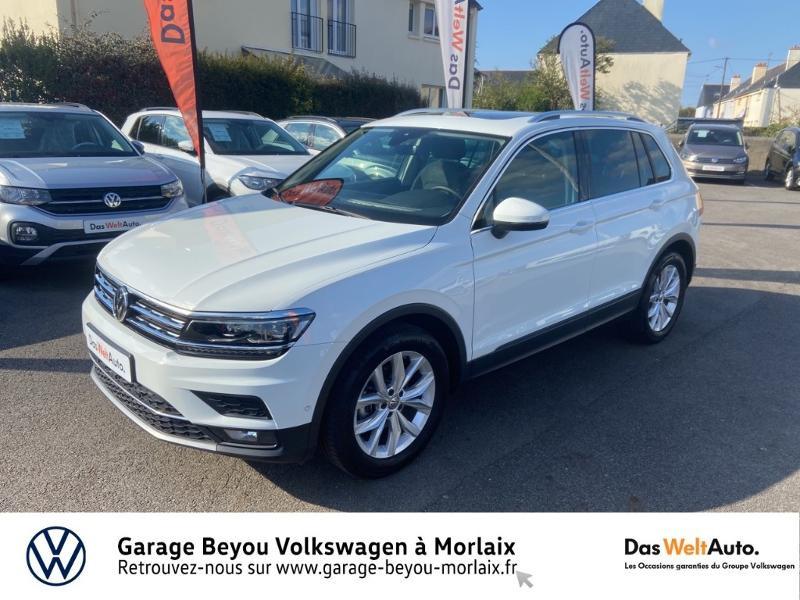 Volkswagen Tiguan 1.5 TSI EVO 150ch Carat DSG7 Euro6dT Essence BLANC PUR Occasion à vendre