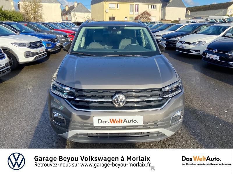 Photo 5 de l'offre de VOLKSWAGEN T-Cross 1.0 TSI 115ch Carat à 21990€ chez Garage Beyou- Volkswagen Morlaix