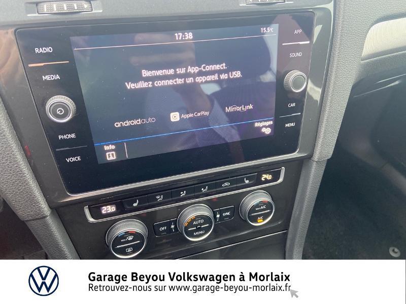 Photo 8 de l'offre de VOLKSWAGEN Golf 1.0 TSI 115ch Trendline Euro6d-T 5p à 14990€ chez Garage Beyou- Volkswagen Morlaix