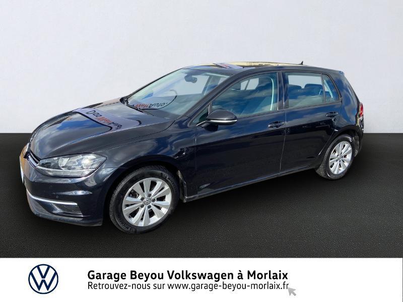 Photo 1 de l'offre de VOLKSWAGEN Golf 2.0 TDI 150ch FAP Confortline Business DSG7 5p à 15490€ chez Garage Beyou- Volkswagen Morlaix