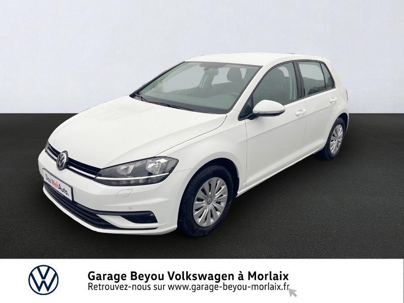 Photo 1 de l'offre de VOLKSWAGEN Golf 1.0 TSI 115ch Trendline Euro6d-T 5p à 14990€ chez Garage Beyou- Volkswagen Morlaix