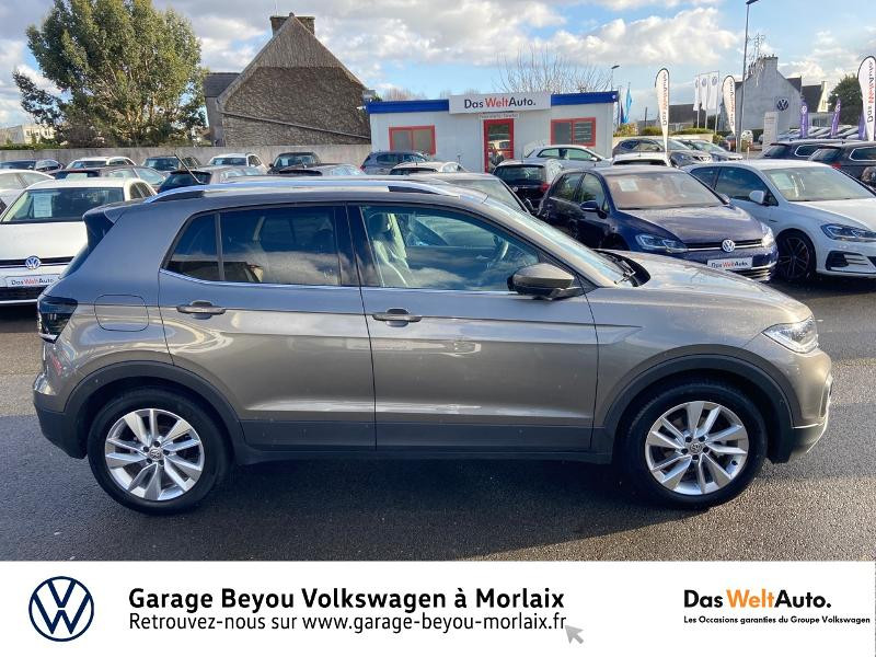 Photo 4 de l'offre de VOLKSWAGEN T-Cross 1.0 TSI 115ch Carat à 21990€ chez Garage Beyou- Volkswagen Morlaix