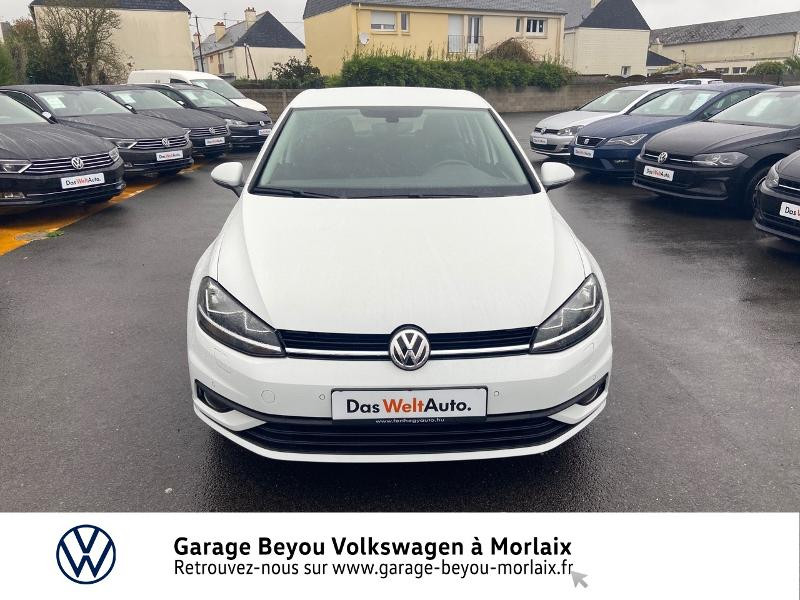 Photo 5 de l'offre de VOLKSWAGEN Golf 1.0 TSI 115ch Trendline Euro6d-T 5p à 14990€ chez Garage Beyou- Volkswagen Morlaix