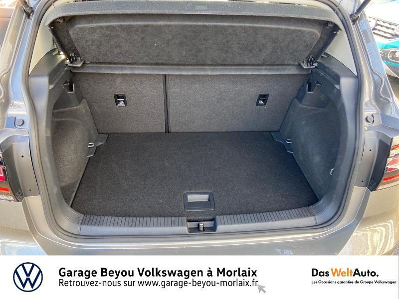 Photo 12 de l'offre de VOLKSWAGEN T-Cross 1.0 TSI 115ch Carat à 21990€ chez Garage Beyou- Volkswagen Morlaix