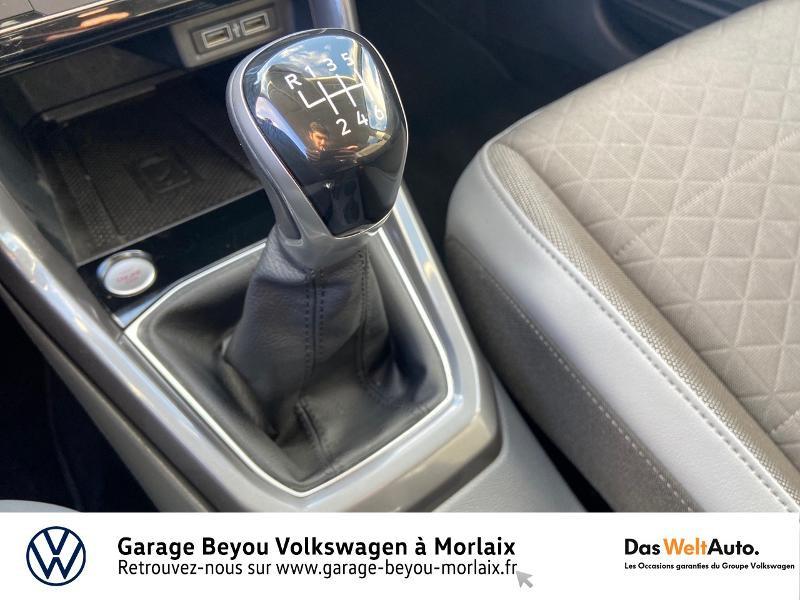 Photo 10 de l'offre de VOLKSWAGEN T-Cross 1.0 TSI 115ch Carat à 21990€ chez Garage Beyou- Volkswagen Morlaix