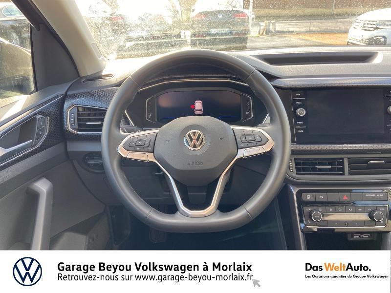 Photo 7 de l'offre de VOLKSWAGEN T-Cross 1.0 TSI 115ch Carat à 21990€ chez Garage Beyou- Volkswagen Morlaix