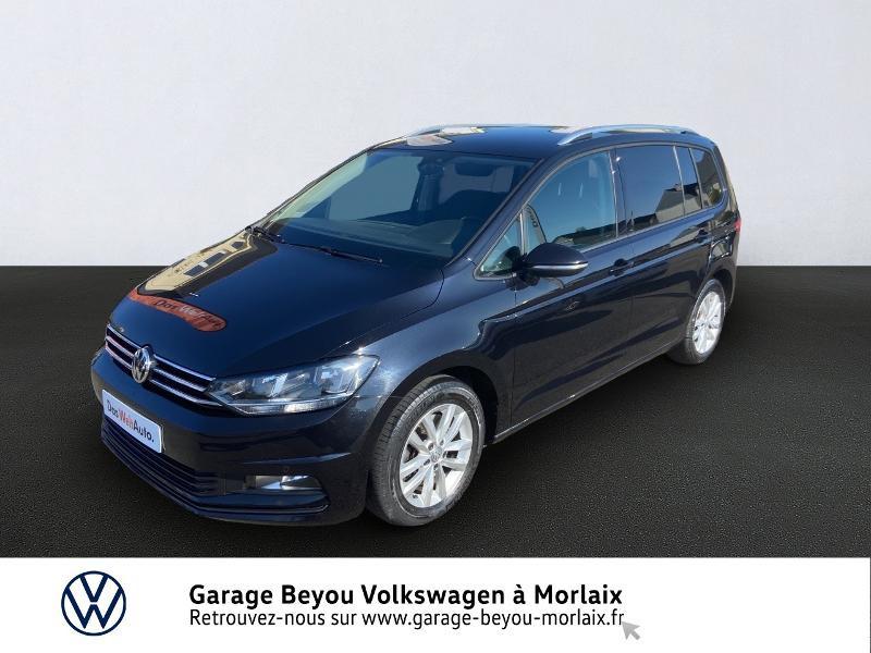 Volkswagen Touran 1.6 TDI 110ch BlueMotion Technology FAP Confortline Business DSG7 5 places Diesel NOIR Occasion à vendre