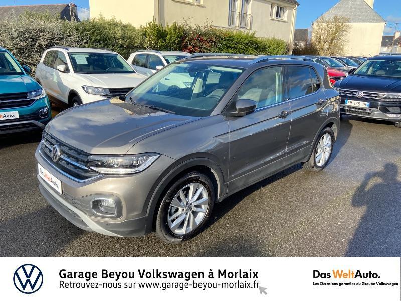Photo 21 de l'offre de VOLKSWAGEN T-Cross 1.0 TSI 115ch Carat à 21990€ chez Garage Beyou- Volkswagen Morlaix