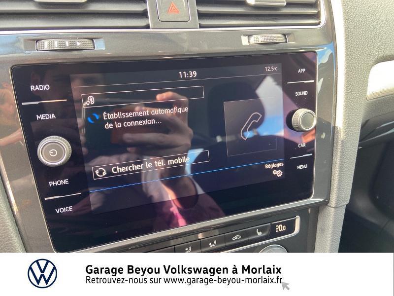 Photo 20 de l'offre de VOLKSWAGEN Golf 1.0 TSI 115ch Trendline Euro6d-T 5p à 14990€ chez Garage Beyou- Volkswagen Morlaix