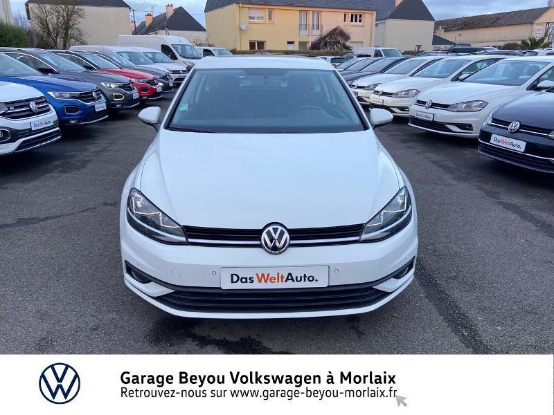 Photo 5 de l'offre de VOLKSWAGEN Golf 1.6 TDI 115ch BlueMotion Technology FAP Trendline Business DSG7 3p à 14490€ chez Garage Beyou- Volkswagen Morlaix