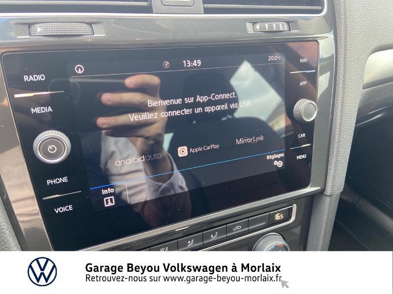 Photo 18 de l'offre de VOLKSWAGEN Golf 2.0 TDI 150ch FAP Confortline Business DSG7 5p à 15490€ chez Garage Beyou- Volkswagen Morlaix