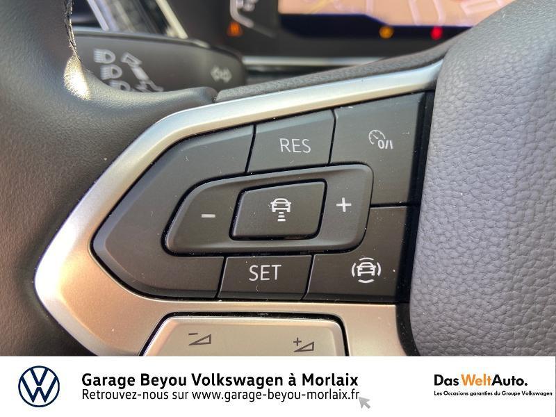 Photo 20 de l'offre de VOLKSWAGEN T-Cross 1.0 TSI 115ch Carat à 21990€ chez Garage Beyou- Volkswagen Morlaix