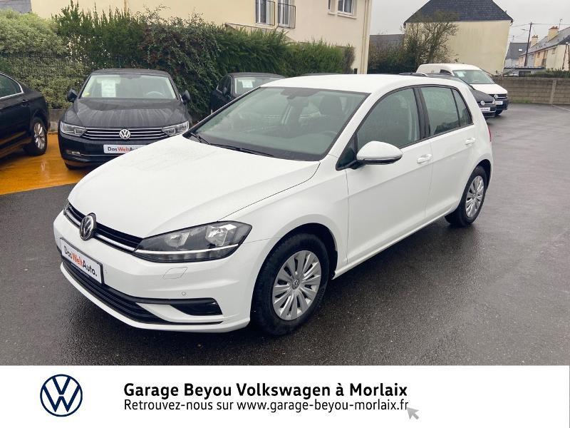 Photo 21 de l'offre de VOLKSWAGEN Golf 1.0 TSI 115ch Trendline Euro6d-T 5p à 14990€ chez Garage Beyou- Volkswagen Morlaix