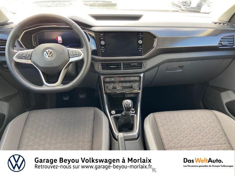Photo 6 de l'offre de VOLKSWAGEN T-Cross 1.0 TSI 115ch Carat à 21990€ chez Garage Beyou- Volkswagen Morlaix