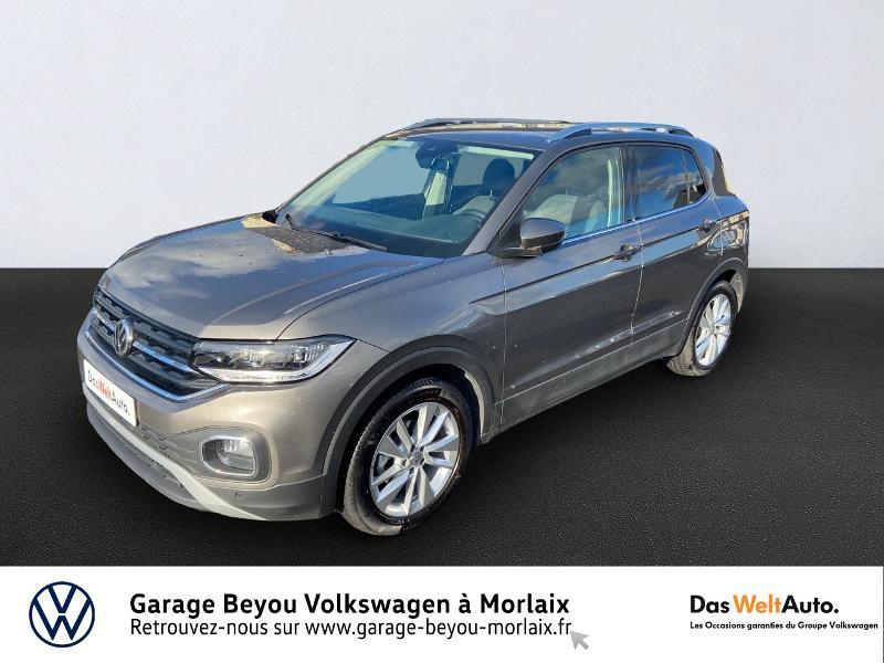 Photo 1 de l'offre de VOLKSWAGEN T-Cross 1.0 TSI 115ch Carat à 21990€ chez Garage Beyou- Volkswagen Morlaix