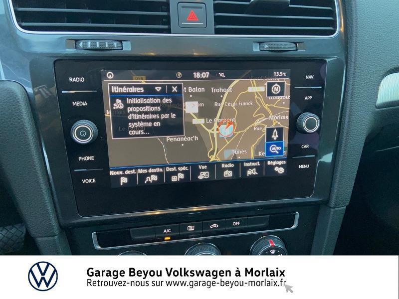Photo 8 de l'offre de VOLKSWAGEN Golf 1.6 TDI 115ch BlueMotion Technology FAP Trendline Business DSG7 3p à 14490€ chez Garage Beyou- Volkswagen Morlaix