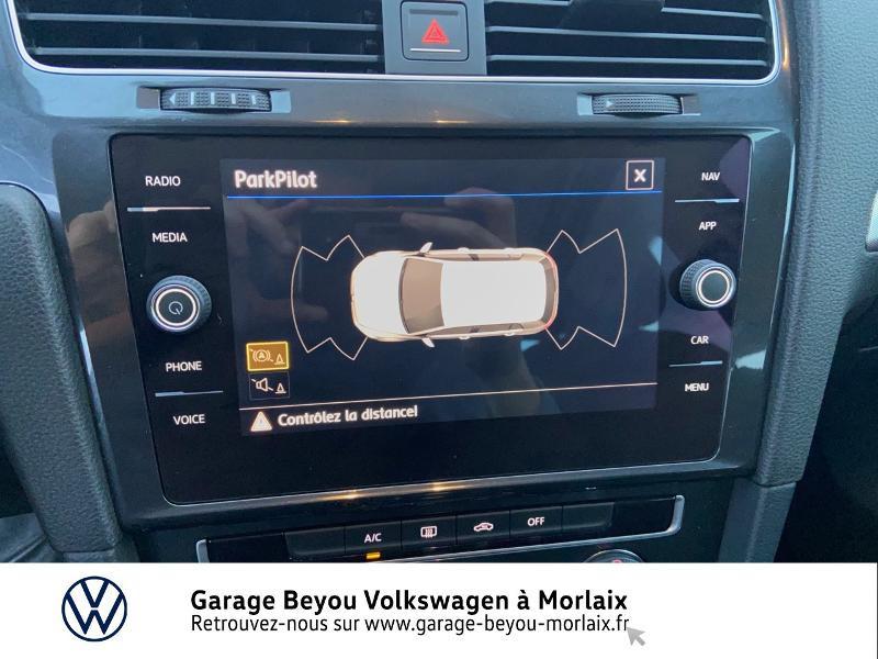 Photo 17 de l'offre de VOLKSWAGEN Golf 1.6 TDI 115ch BlueMotion Technology FAP Trendline Business DSG7 3p à 14490€ chez Garage Beyou- Volkswagen Morlaix