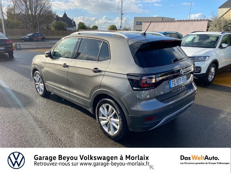 Photo 3 de l'offre de VOLKSWAGEN T-Cross 1.0 TSI 115ch Carat à 21990€ chez Garage Beyou- Volkswagen Morlaix