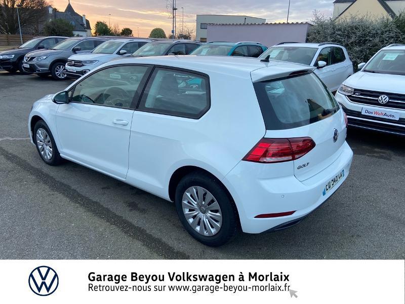 Photo 3 de l'offre de VOLKSWAGEN Golf 1.6 TDI 115ch BlueMotion Technology FAP Trendline Business DSG7 3p à 14490€ chez Garage Beyou- Volkswagen Morlaix