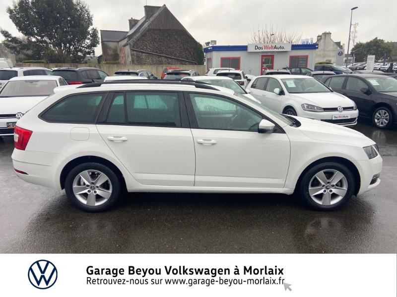 Photo 4 de l'offre de SKODA Octavia Break 1.6 TDI 116ch SCR Business DSG7 Euro6d-T à 11990€ chez Garage Beyou- Volkswagen Morlaix
