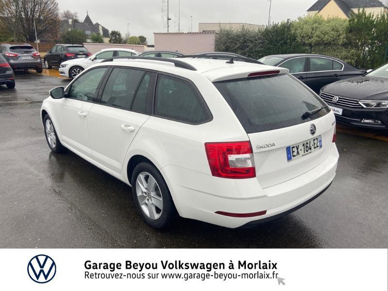 Photo 3 de l'offre de SKODA Octavia Break 1.6 TDI 116ch SCR Business DSG7 Euro6d-T à 11990€ chez Garage Beyou- Volkswagen Morlaix