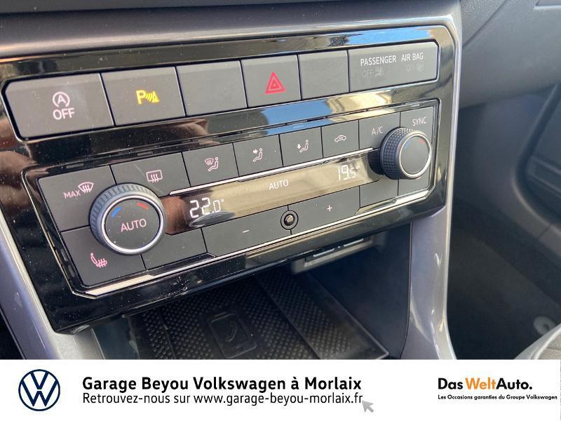 Photo 18 de l'offre de VOLKSWAGEN T-Cross 1.0 TSI 115ch Carat à 21990€ chez Garage Beyou- Volkswagen Morlaix
