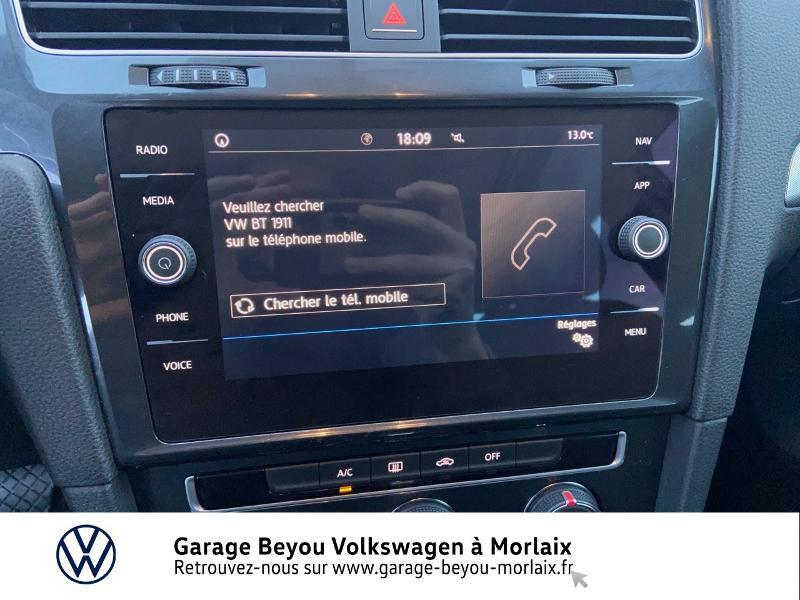 Photo 18 de l'offre de VOLKSWAGEN Golf 1.6 TDI 115ch BlueMotion Technology FAP Trendline Business DSG7 3p à 14490€ chez Garage Beyou- Volkswagen Morlaix