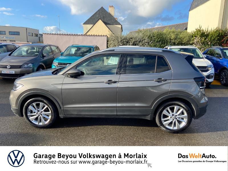 Photo 2 de l'offre de VOLKSWAGEN T-Cross 1.0 TSI 115ch Carat à 21990€ chez Garage Beyou- Volkswagen Morlaix