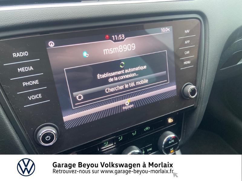 Photo 20 de l'offre de SKODA Octavia Break 1.6 TDI 116ch SCR Business DSG7 Euro6d-T à 11990€ chez Garage Beyou- Volkswagen Morlaix