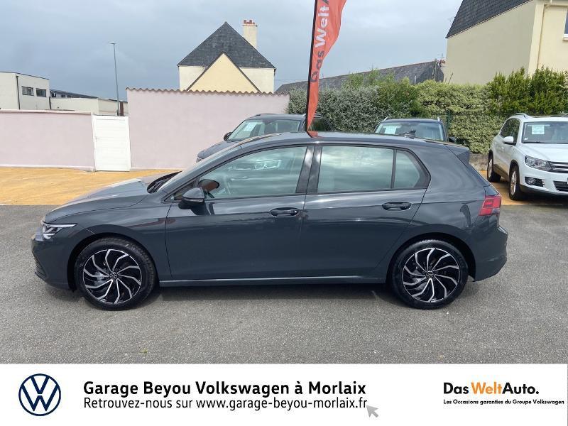 Photo 2 de l'offre de VOLKSWAGEN Golf 1.5 eTSI OPF 150ch Life 1st DSG7 à 24990€ chez Garage Beyou- Volkswagen Morlaix
