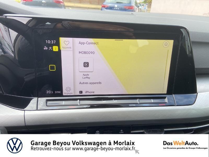 Photo 19 de l'offre de VOLKSWAGEN Golf 1.5 eTSI OPF 150ch Life 1st DSG7 à 24990€ chez Garage Beyou- Volkswagen Morlaix