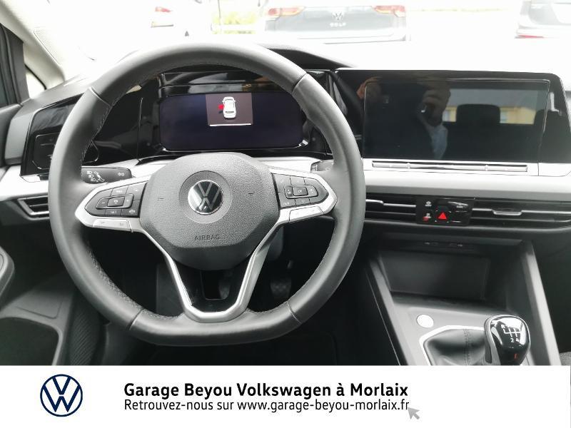 Photo 6 de l'offre de VOLKSWAGEN Golf 1.5 TSI ACT OPF 130ch Life 1st à 24490€ chez Garage Beyou- Volkswagen Morlaix
