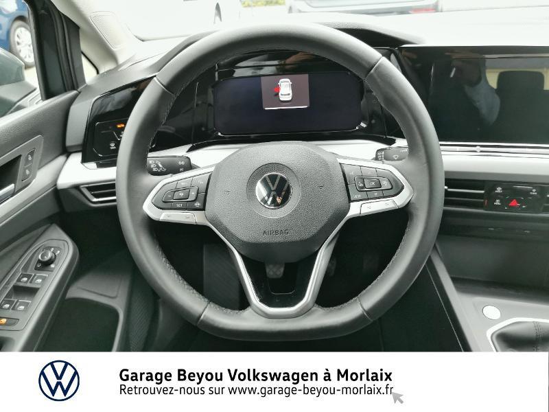 Photo 7 de l'offre de VOLKSWAGEN Golf 1.5 TSI ACT OPF 130ch Life 1st à 24490€ chez Garage Beyou- Volkswagen Morlaix