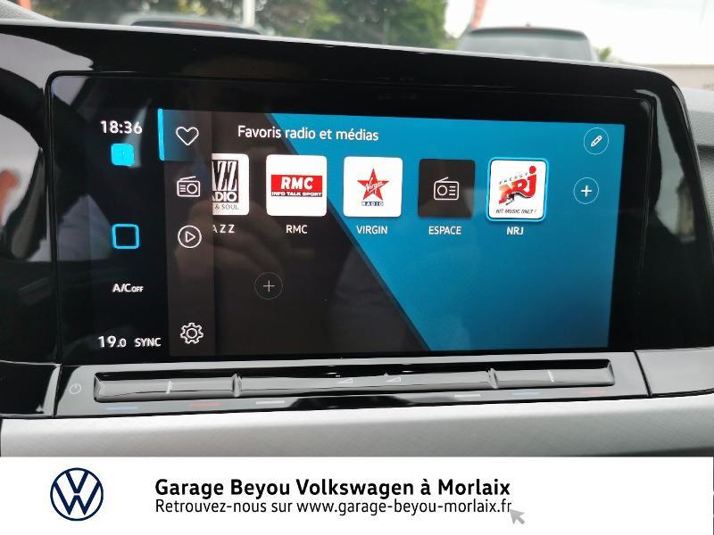 Photo 8 de l'offre de VOLKSWAGEN Golf 1.5 TSI ACT OPF 130ch Life 1st à 24490€ chez Garage Beyou- Volkswagen Morlaix