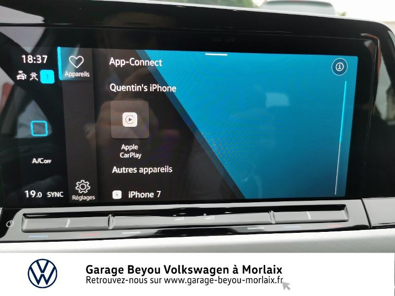 Photo 19 de l'offre de VOLKSWAGEN Golf 1.5 TSI ACT OPF 130ch Life 1st à 24490€ chez Garage Beyou- Volkswagen Morlaix