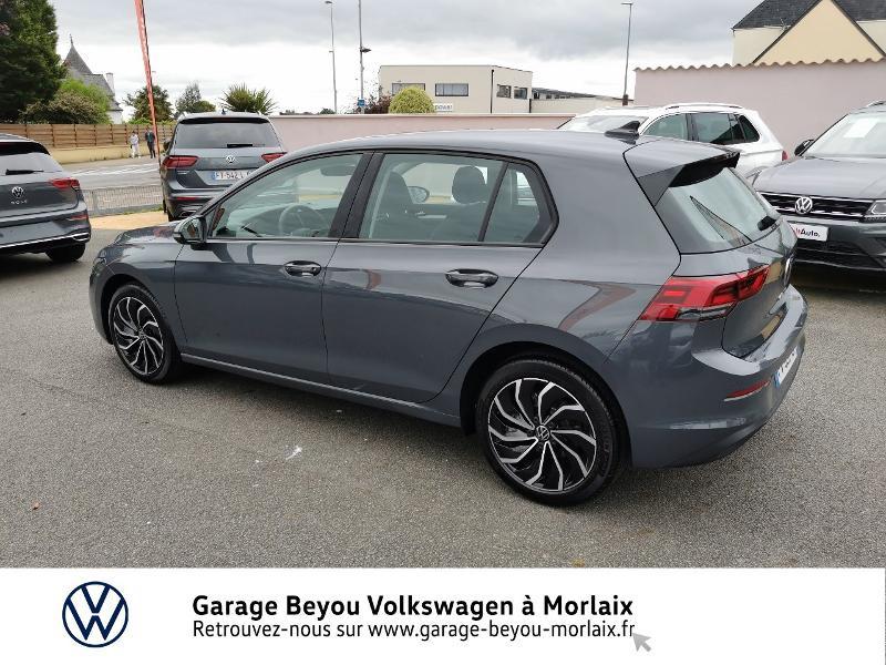 Photo 3 de l'offre de VOLKSWAGEN Golf 1.5 TSI ACT OPF 130ch Life 1st à 24490€ chez Garage Beyou- Volkswagen Morlaix