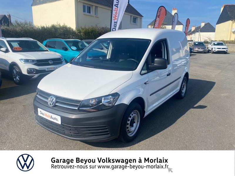 Photo 1 de l'offre de VOLKSWAGEN Caddy Van 2.0 TDI 75ch Business Line à 13490€ chez Garage Beyou- Volkswagen Morlaix